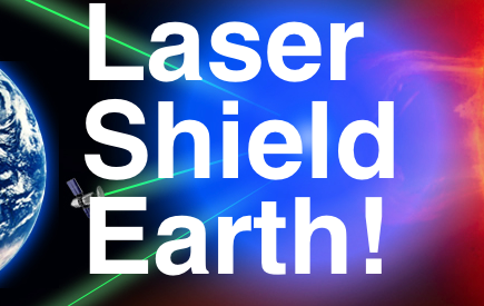 - LASER Earth shield CARD LSE