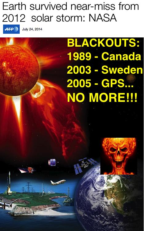 NASA 2012 nearmiss nukes skull blackouts